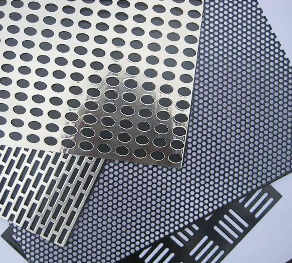 лист металлический перфорированный